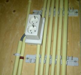 Stopcontact voor de meterkast
